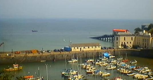 Tenby Harbour Live Streaming Beach Weather Cam, Tenby Wales