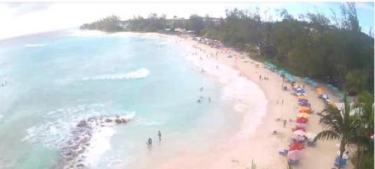 Accra Beach Resort Beach Holiday Weather Web Cam Accra South Barbados